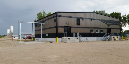 Water Treatment Plant in Deloraine, MB